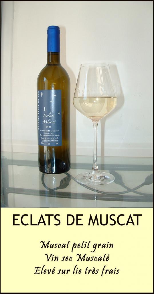 ECLATS DE MUSCAT