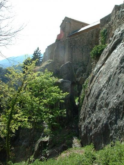 l'abbaye de Saint Martin du Canigou