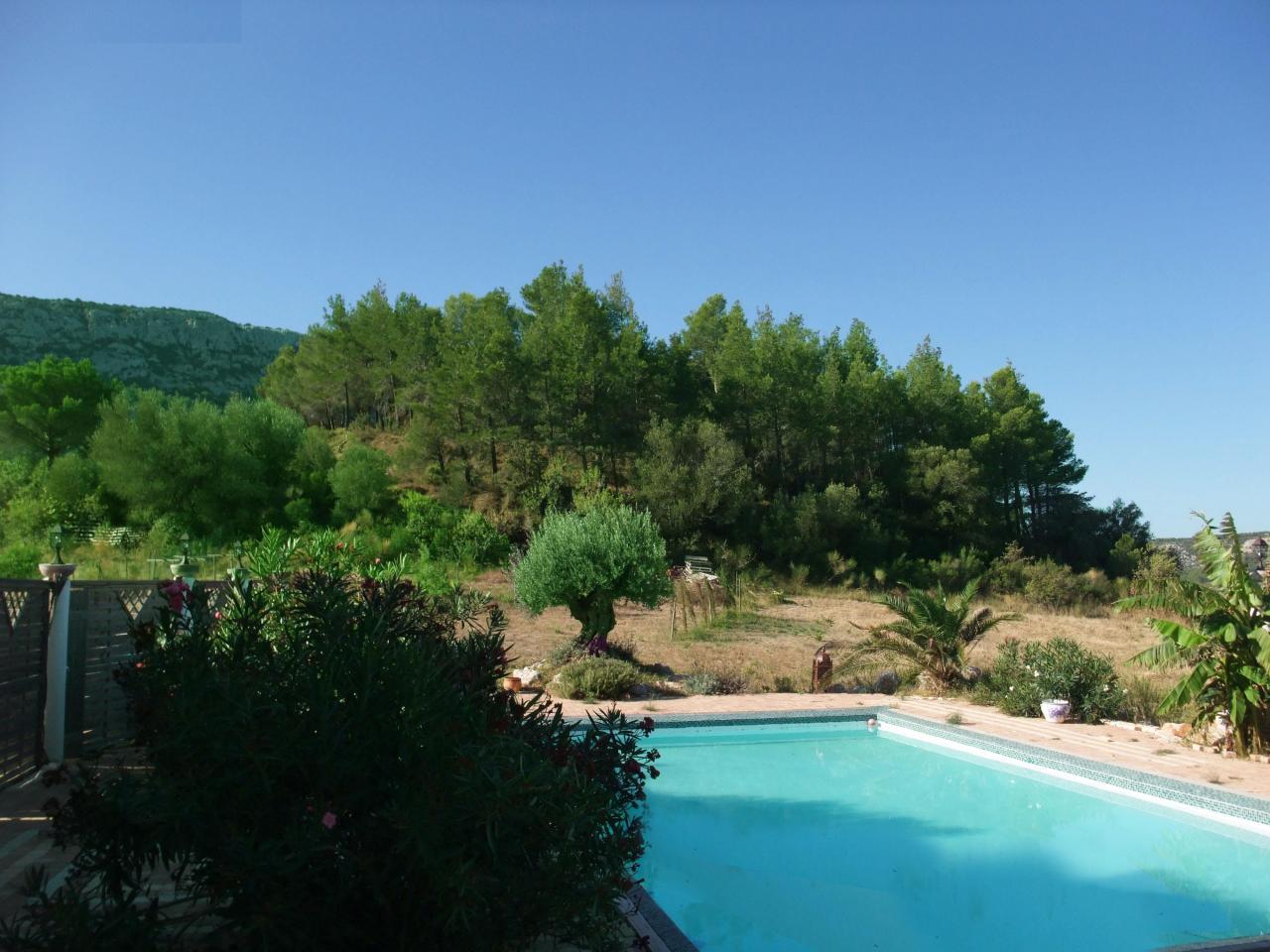 location domaine piscine
