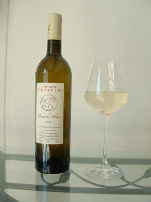 Boutique grenache blanc vin du domaine vents du sud