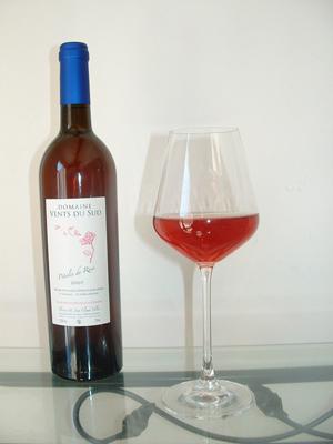 Boutique rose vin du domaine vents du sud